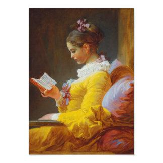 Tarjeta El lector de Jean-Honore Fragonard
