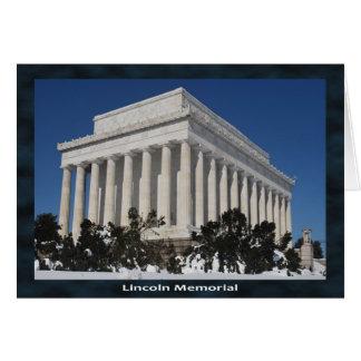 Tarjeta El Lincoln memorial