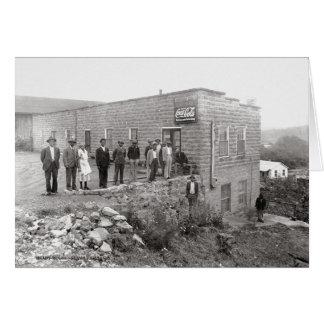 Tarjeta El lugar McMinnville Tennessee 1940 de Ella