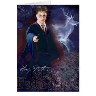 Tarjeta El macho Patronus de Harry Potter