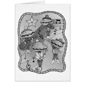 Tarjeta El Mariachi de la ostra congriega