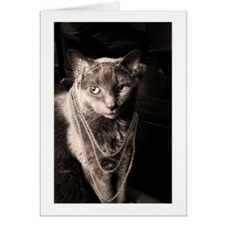 Tarjeta El maullido del gato