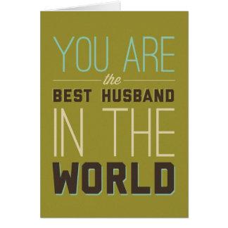 Tarjeta El mejor marido [esposa]