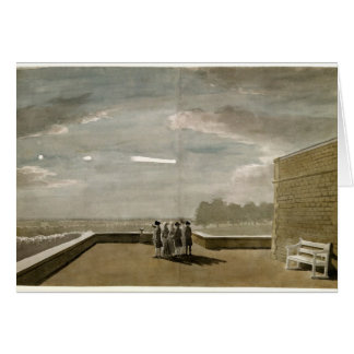 Tarjeta El meteorito del 18 de agosto de 1783, según lo