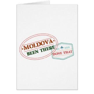 Tarjeta El Moldavia allí hecho eso
