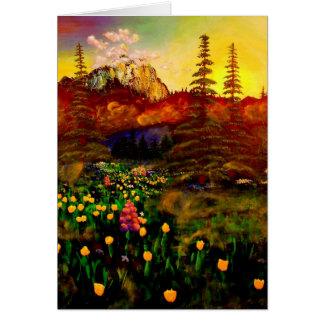 Tarjeta El Monte Rainier