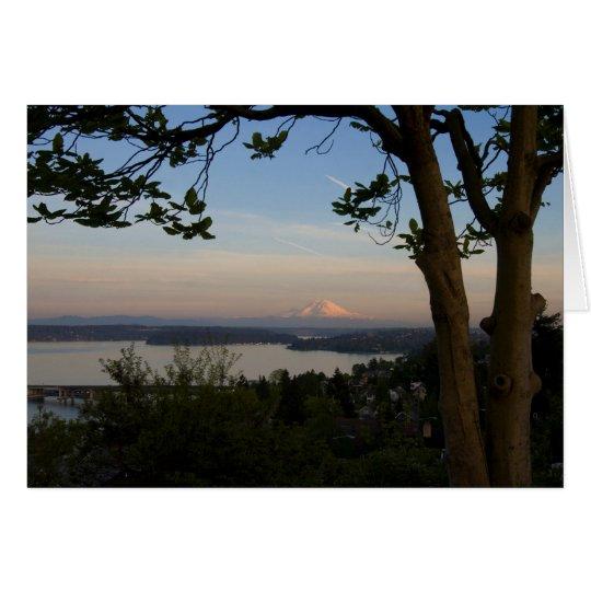 Tarjeta El Monte Rainier Vista