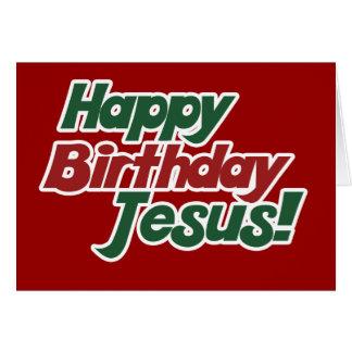 Tarjeta El navidad es cumpleaños de Jesús