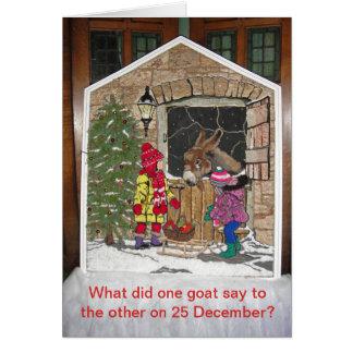 Tarjeta El navidad está para los niños