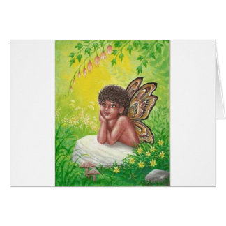 Tarjeta El niño de los faeries