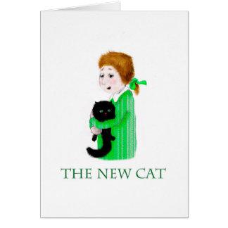 Tarjeta El nuevo gato negro