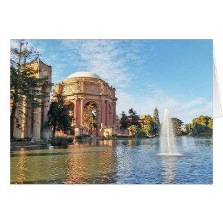 Tarjeta El palacio de las bellas arte California