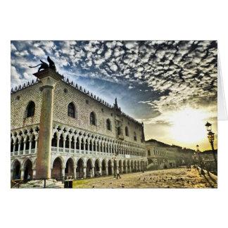 Tarjeta El palacio del dux