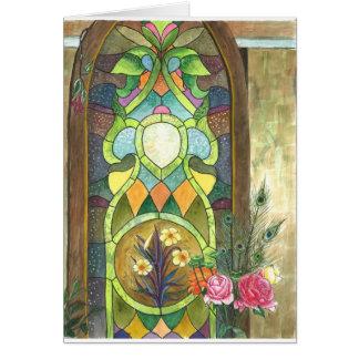 Tarjeta el panel de cristal de la mancha hermosa para