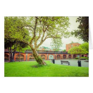 Tarjeta El parque de St Patrick