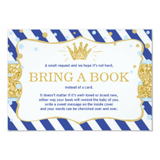 Tarjeta El pequeño príncipe trae a libro la corona del oro