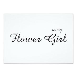 Tarjeta El personalizado a mi florista le agradece