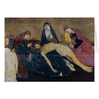 Tarjeta El Pieta de Aviñón, 1450-60