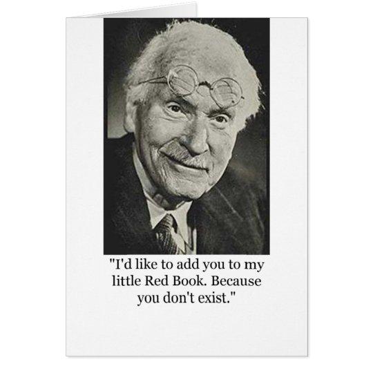 Tarjeta El poco libro rojo de Jung
