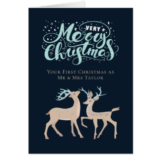 Tarjeta El primer navidad personalizó navidad de los
