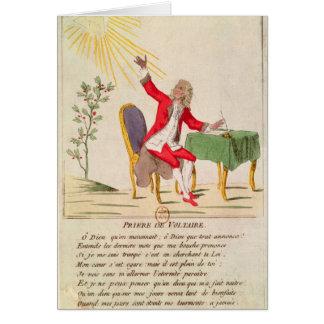 Tarjeta El rezo de Voltaire
