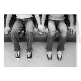Tarjeta El sentarse junto para siempre