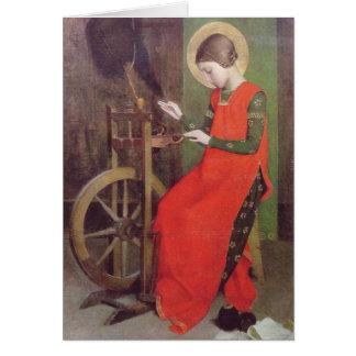 Tarjeta El St Elizabeth de Hungría de Marianne alimenta
