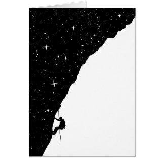 Tarjeta El subir de la noche