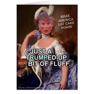 Tarjeta Elección anti 2016 de Donald Trump Marie Antonieta