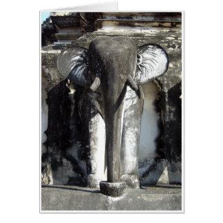 Tarjeta Elefante antiguo