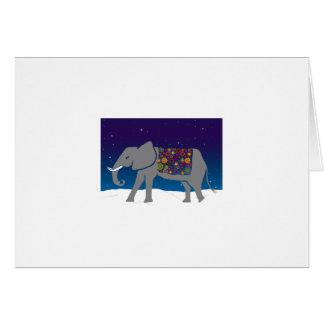 Tarjeta Elefante maravilloso