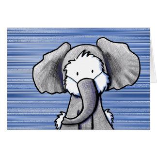 Tarjeta Elefante Westie Terrier