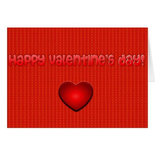 Tarjeta elegante del el día de San Valentín del