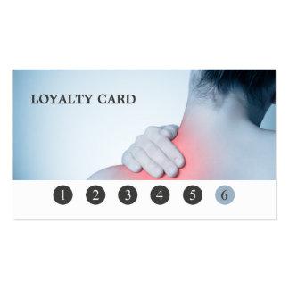 Tarjeta elegante moderna de la lealtad del tarjetas de visita