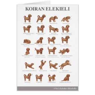 Tarjeta Elekieli/Kortti de Koiran/