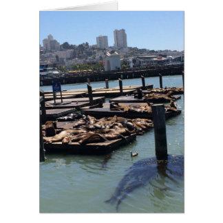Tarjeta Embarcadero 39 San Francisco California