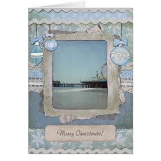 Tarjeta Embarcadero azul de Santa Mónica de las Felices