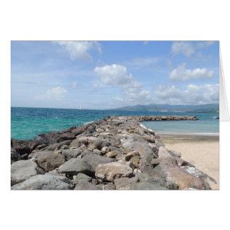 Tarjeta Embarcaderos del Caribe Notecards