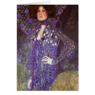 Tarjeta Emilie Floege cerca: Gustavo Klimt