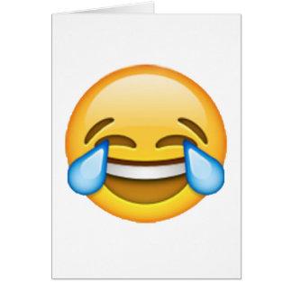 Tarjeta Emoji - rasgones de la alegría