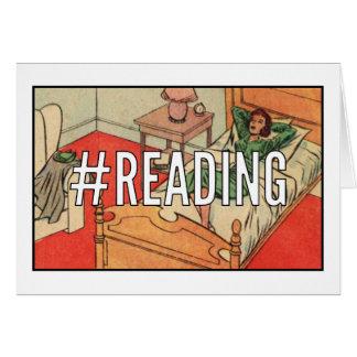 Tarjeta en blanco CÓMICA el   #Reading