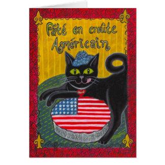 Tarjeta En Croûte Américain (empanada americana) de Pâté