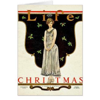 Tarjeta En diciembre de 1923 ejemplo del navidad de Coles