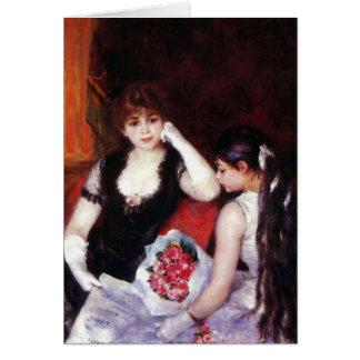 Tarjeta En el Loge de Pedro Renoir