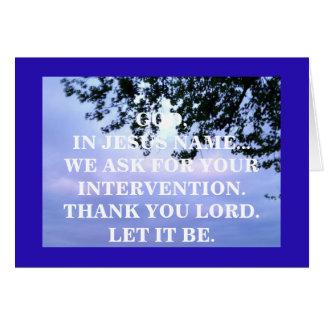 Tarjeta EN MI NOMBRE (j16: 24)