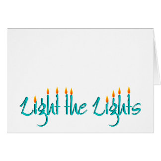 Tarjeta Encienda las luces