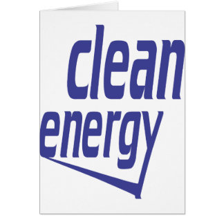Tarjeta Energía limpia