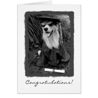 Tarjeta Enhorabuena de la graduación