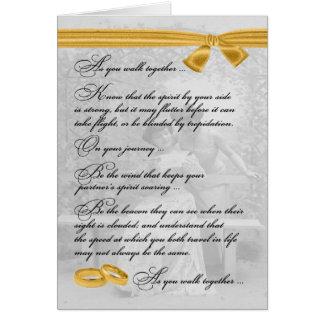 Tarjeta Enhorabuena lesbiana del boda