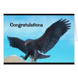 Tarjeta ¡Enhorabuena - usted es Eagle Scout!
